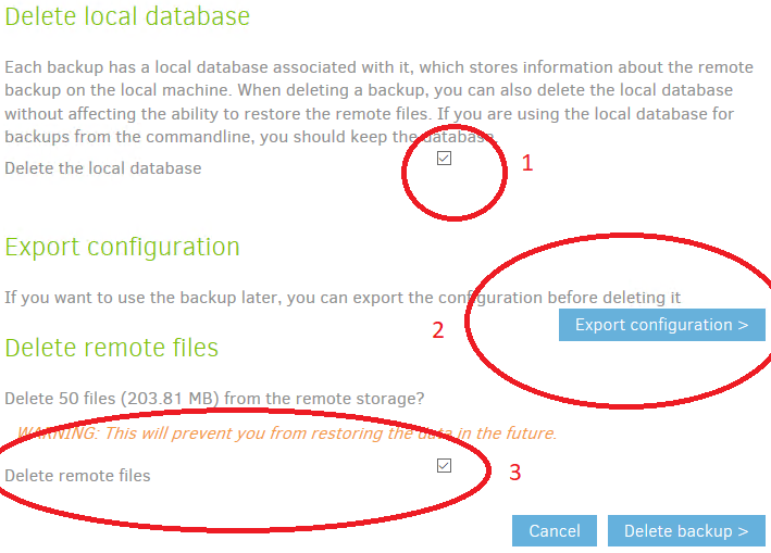 Duplicati with Minio replacing crashplan friends - Support