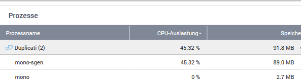 Choppy performance on QNAP running Duplicati 2 0 3 6