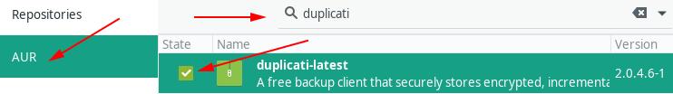 Installing Duplicati