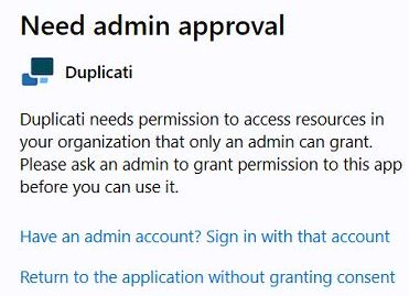 Need admin approval - private